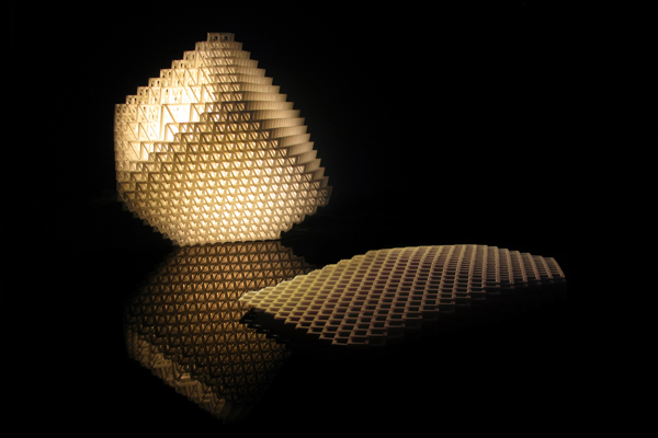 3d Printed Table Lamp Design By Simon Spagnoletti