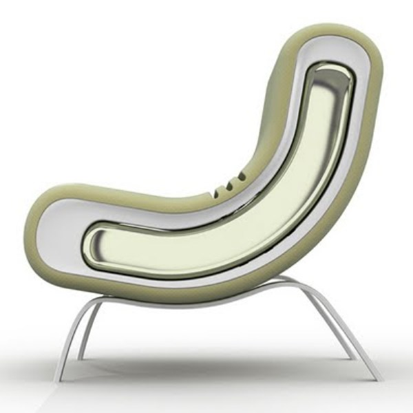 armchair 39 in 39 minimalist chair design by renzo menegon