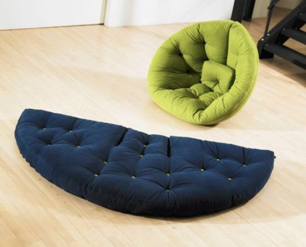 Nest Cool Colourful Futon Designed By Anders Backe