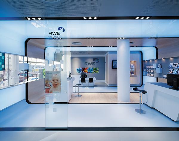 energy cells rwe customer service centre by d 39 art design gruppe dzine trip. Black Bedroom Furniture Sets. Home Design Ideas