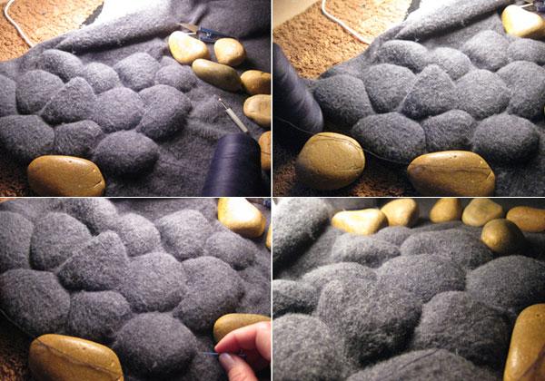 3D Pebbles Carpet By Neora Zigler