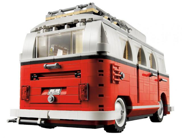 Lego Vw Camper Van Dzine Trip
