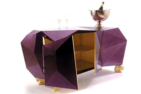 Luxury Furniture Design By Boca Do Lobo: Diamond Sideboard