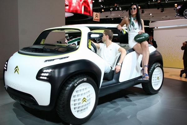 Citroen Lacoste Car At The 2012 Paris Motor Show