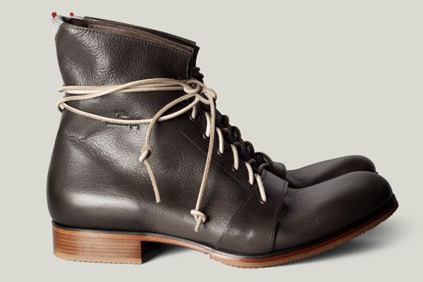 Handmade Leather Boots from Italy: Hard Graft Footwear - http