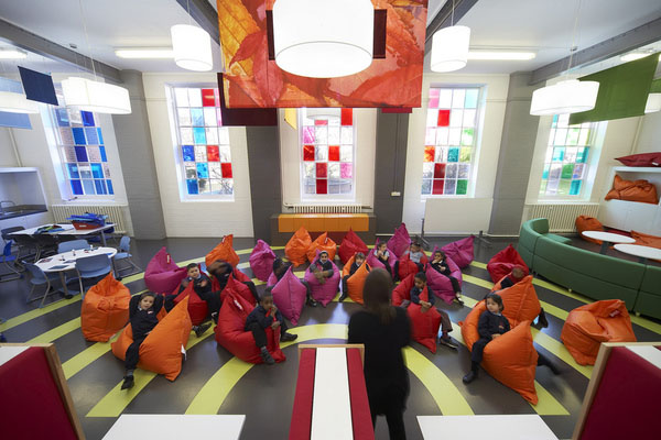 Merveilleux Primary School Interior Design In London By Gavin Hughes