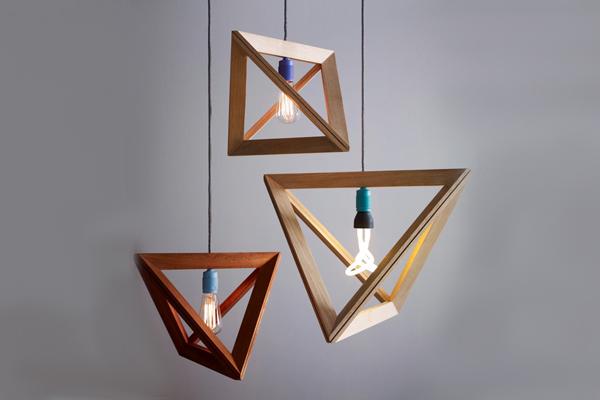 MINIMALIST WOODEN LAMP  MINIMALIST WOODEN LAMP  wooden lamp frame by herr mandel 01