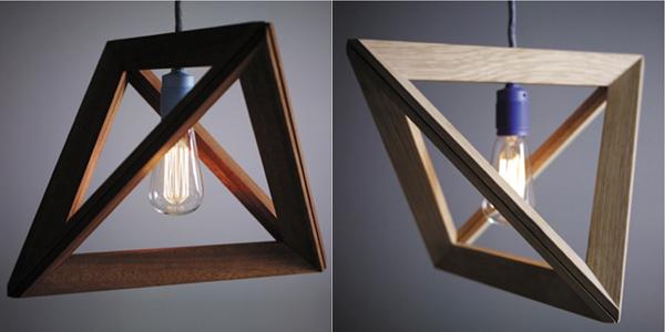 MINIMALIST WOODEN LAMP  MINIMALIST WOODEN LAMP  wooden lamp frame by herr mandel 02