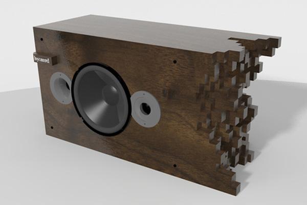 Wooden Speakers Designers By Matt Dennis on Creative Modern Home Designs