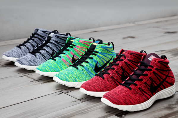 d510cfd9a190 Nike Lunar Flyknit Chukkas Collection for Fall 2013 -