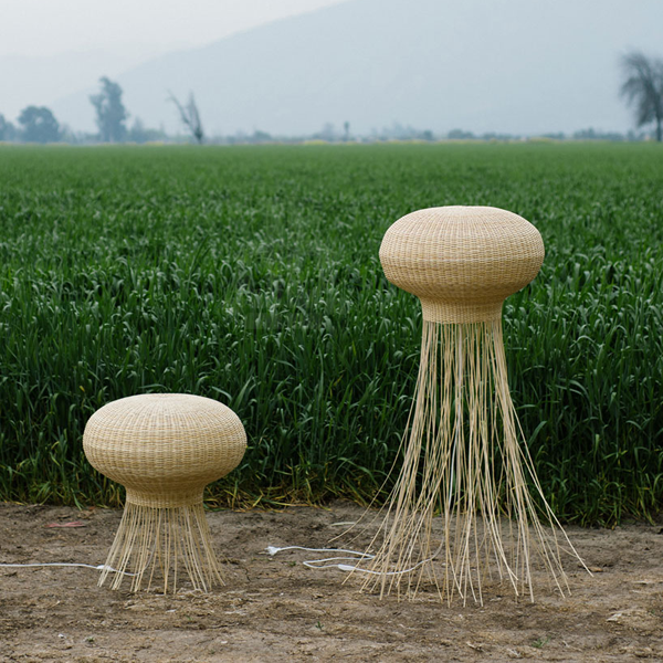 Wicker Lamp Collection By Claesson Koivisto Rune DZine Trip