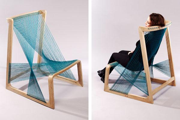 Silk Chair By Swedish Design Studio Alvi Design