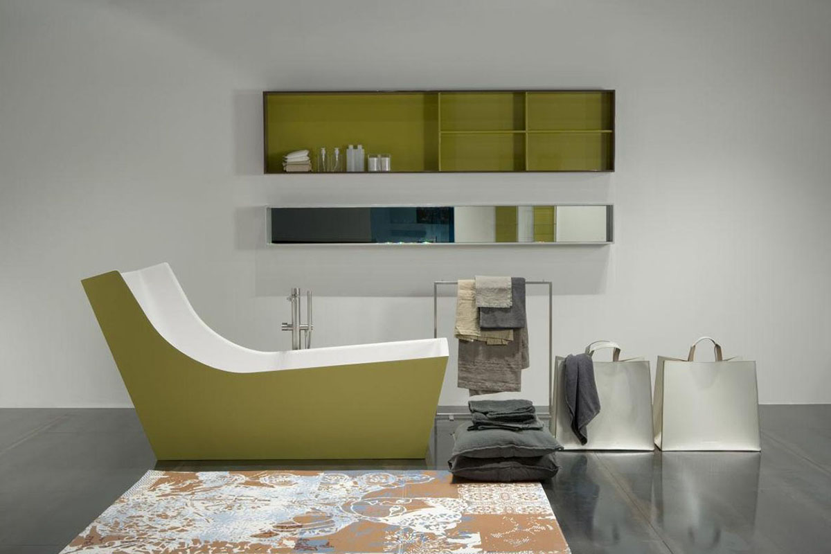 Carlo Colombo Design.Italian Architect Carlo Colombo Designs A Minimalist Bathtub