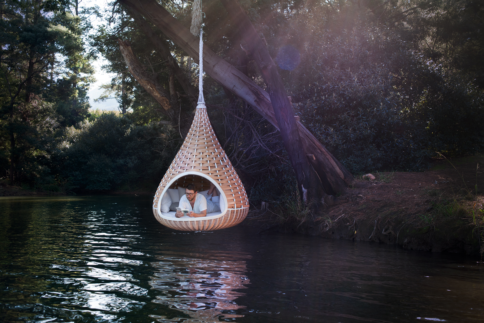 hanging chair by dedon publication team july 17 2011 design furniture