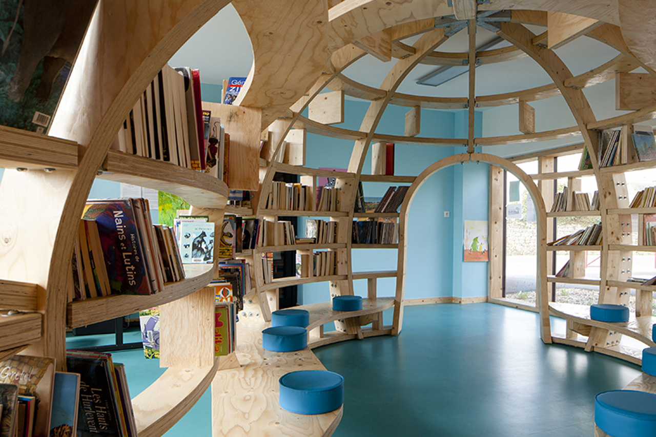 Unconventional school design fosters creative thinking and for Hotel design france