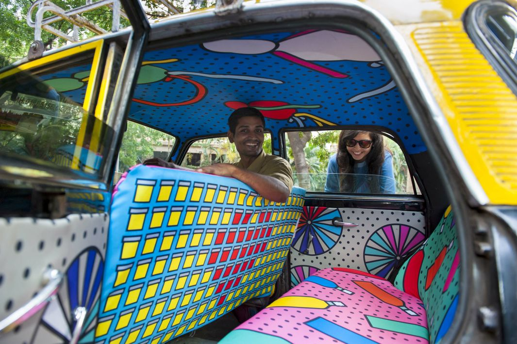Mumbai Taxis Take You On A Journey Of Art