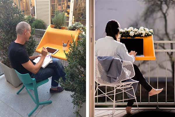 Balkonzept brings indoor living outside