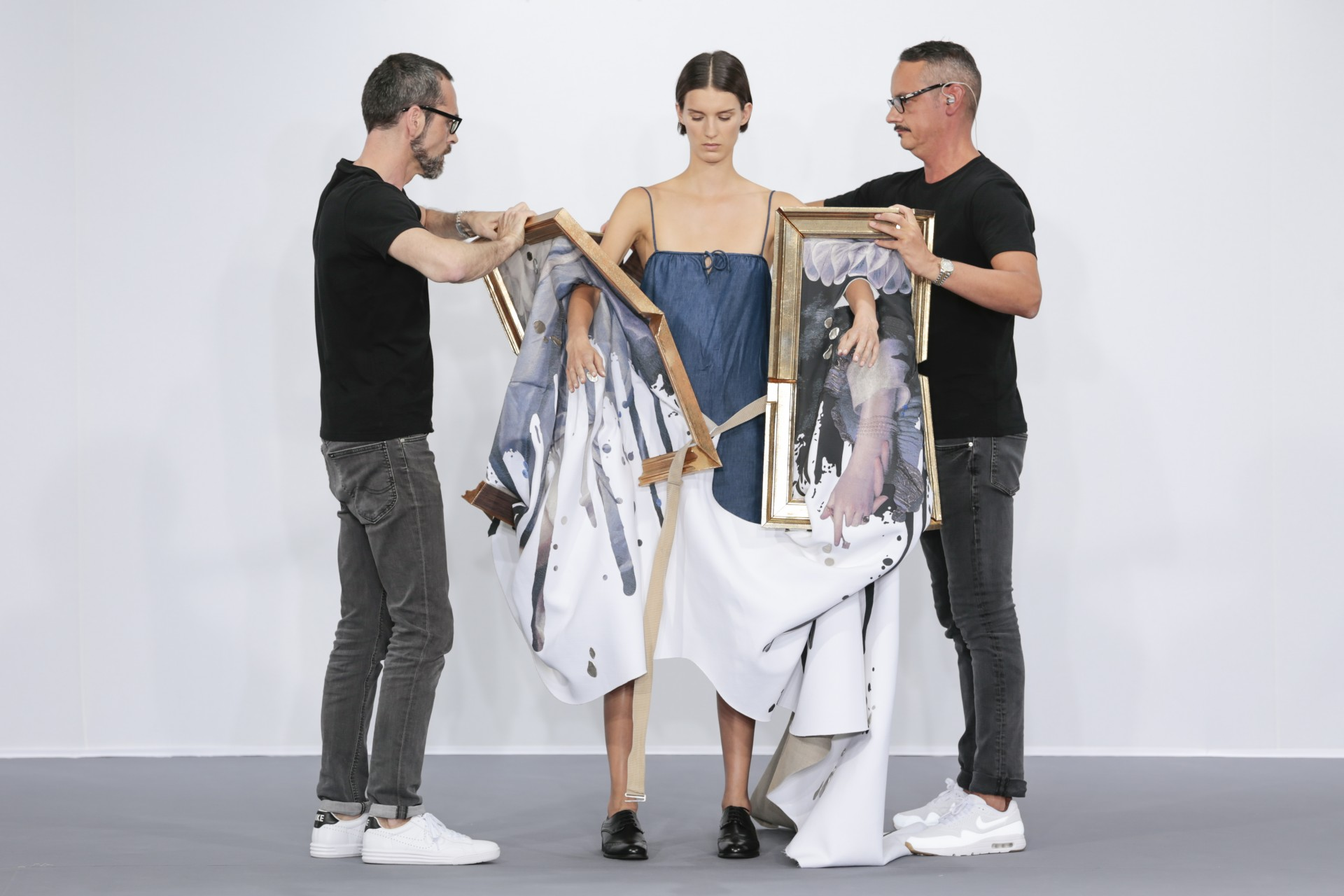 Viktor And Rolf Showcase Their Wearable Art Collection In Paris