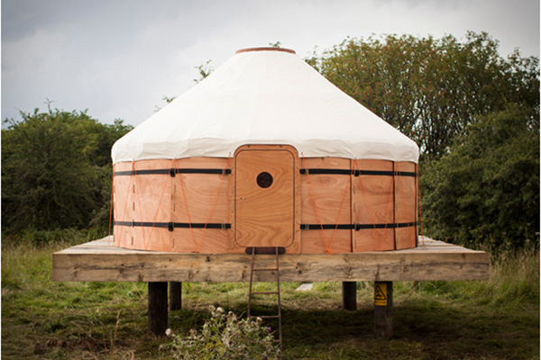 Wooden Tent Inspired By A Traditional Yurt Dzine Trip